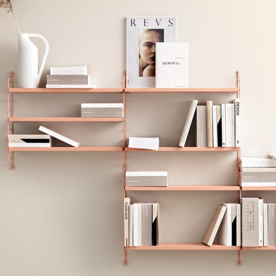 The Mesmerizing Colors of the Wall Shelf Design Classic – The String Pocket Shelf