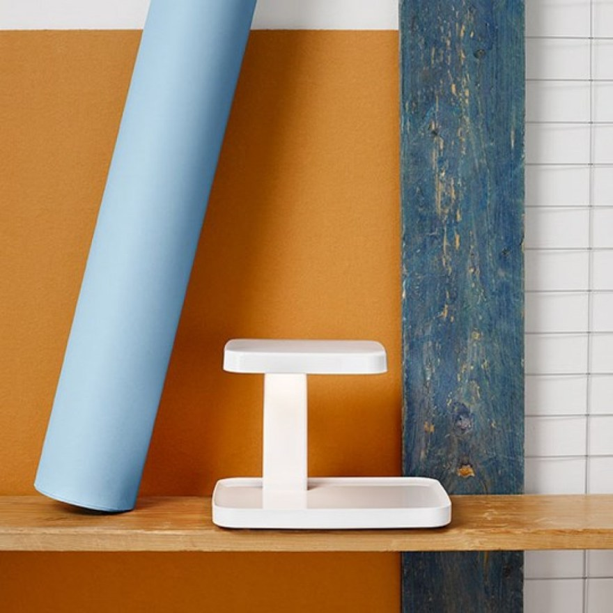 The Piani Table Lamp Design by Ronan and Erwan Bouroullec for the Italian Lighting Brand Flos