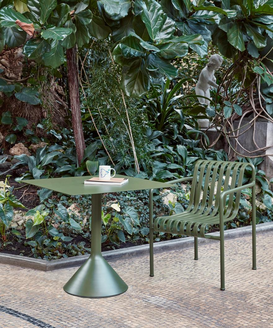 The Perfect Cone – Palissade Cone Table Design for HAY by Ronan and Erwan Bouroullec