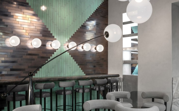 A Design Showroom where You can Eat - The Manzoni Restaurant in Milan by Tom Dixon - Interior 3000, Design Blog, Interior Design, Furniture Design