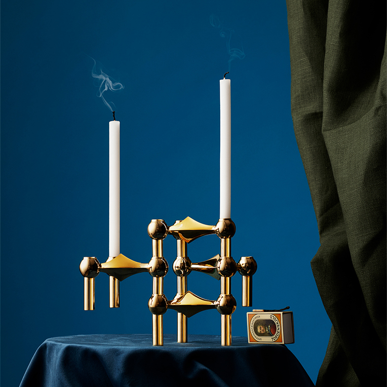Start Combining the Modular Design Classic – STOFF Nagel Candleholder for STOFF Copenhagen