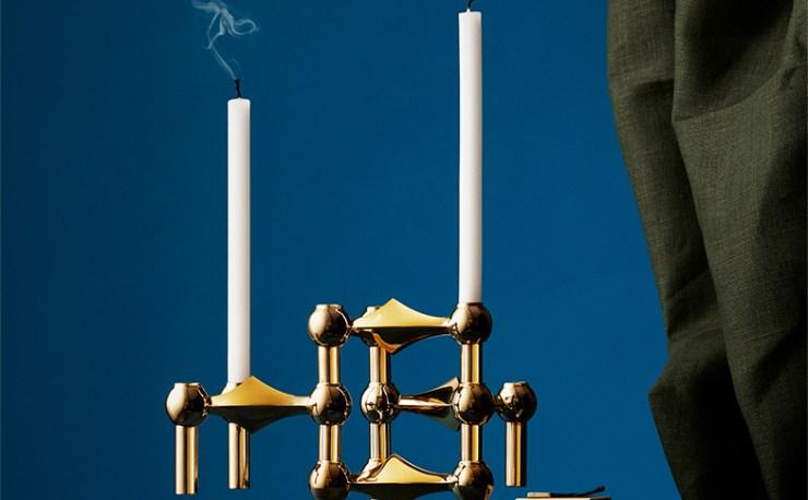 Start Combining the Modular Design Classic - STOFF Nagel Candleholder for STOFF Copenhagen, Interior 3000 Design Blog, Interior Design, Furniture Design, Accessories Design