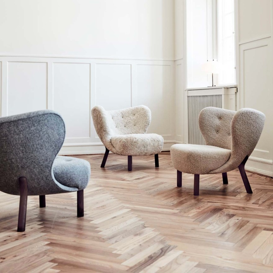 So Fluffy – Little Petra Lounge Chair Design by Viggo Boesen for &Tradition