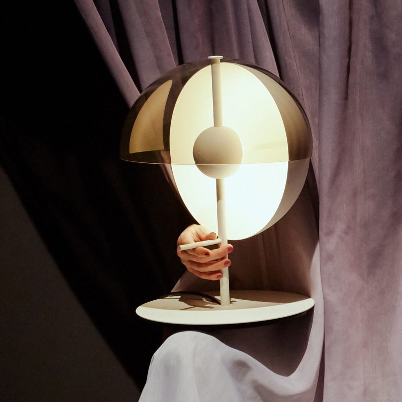 A Beautiful Globe Light – Theia Table Lamp Design by Mathias Hahn for Marset