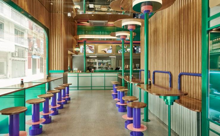 Kento Japanese Restaurants in Valencia, Spain by Design Office Masquespacio, Interior 3000 Design Blog, Interior Design, Furniture Design