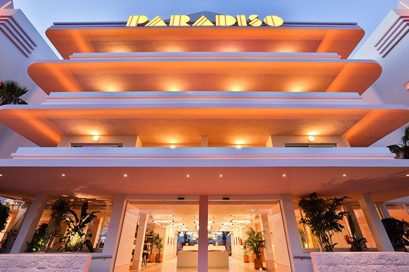 A Pastel Memphis Miami Dream - Paradiso Ibiza Art Hotel Interior Design by Ilmiodesign