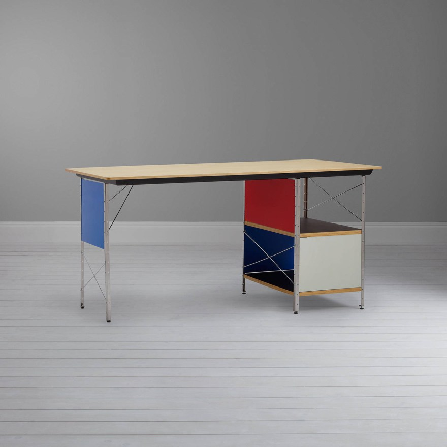 The Contemporary Vitra Classic – Eames Desk Unit Design by Charles and Ray Eames
