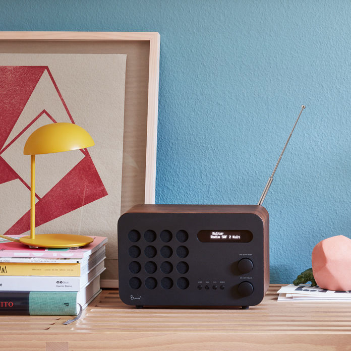 Technically Updated Version of the Classic Eames Table Radio by Charles and Ray Eames for Vitra and REVO
