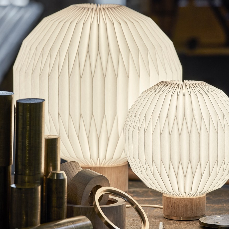 Based on the Iconic Lamp by Danish Designer Esben Klint – 375M and 375S Table Lamp Design for Le Klint