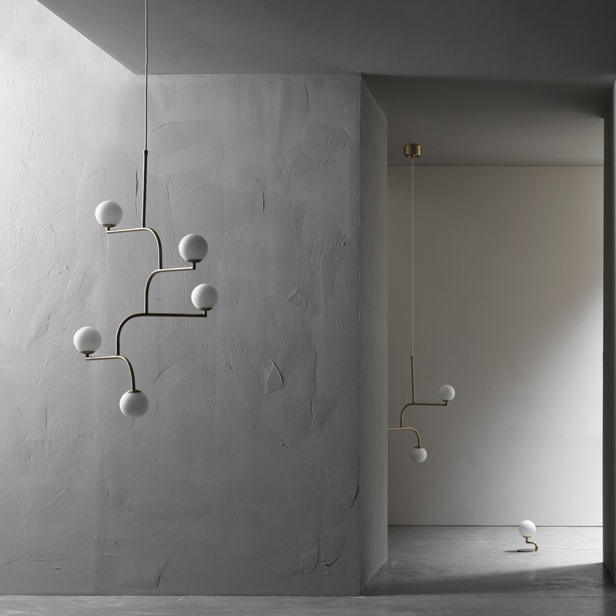A Elegant Light Mobile – Pholc's Mobil 100 Pendant Lamp Design by Monika Mulder