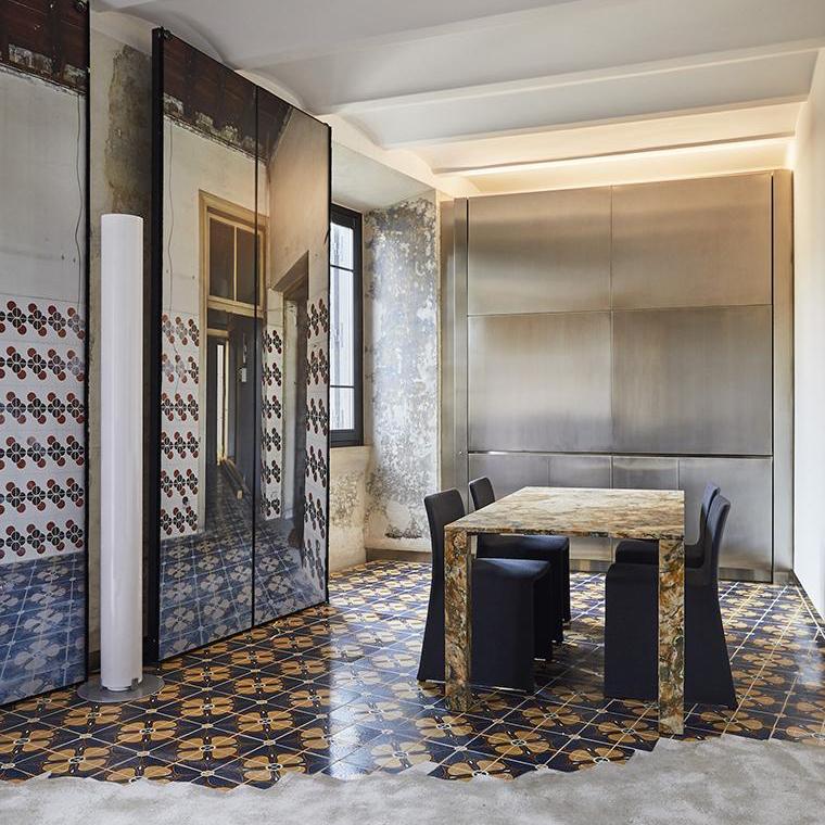 24 Unique Apartments on Top of Fondazione Alda Fendi – The Rooms of Rome Palazzo Rhinoceros Hotel Design by Jean Nouvel