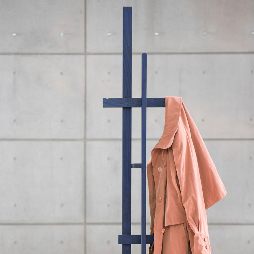 A Functional Piece of Art – Elements Coat Rack Design for Ariake by Japanese Designer Shin Azumi