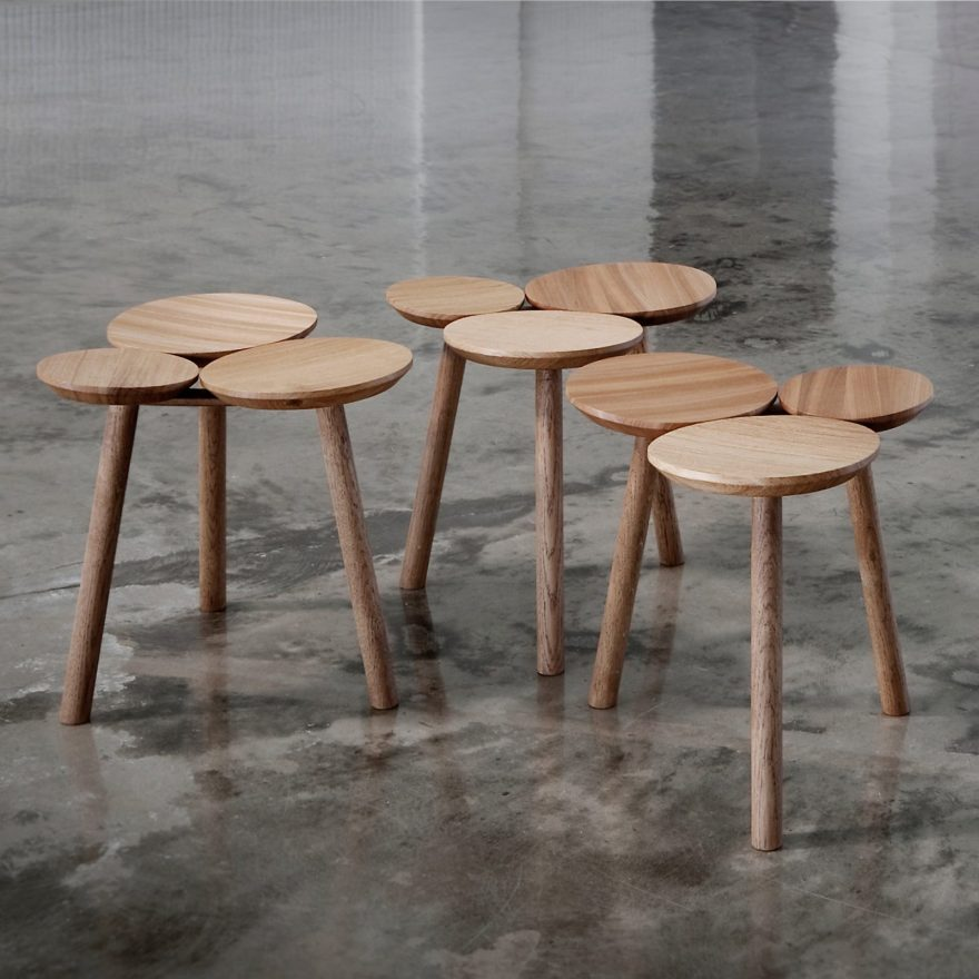 The Beauty of Individuality – The Wooden July Stool Design by Nao Tamura for Nikari with Finnish WWF