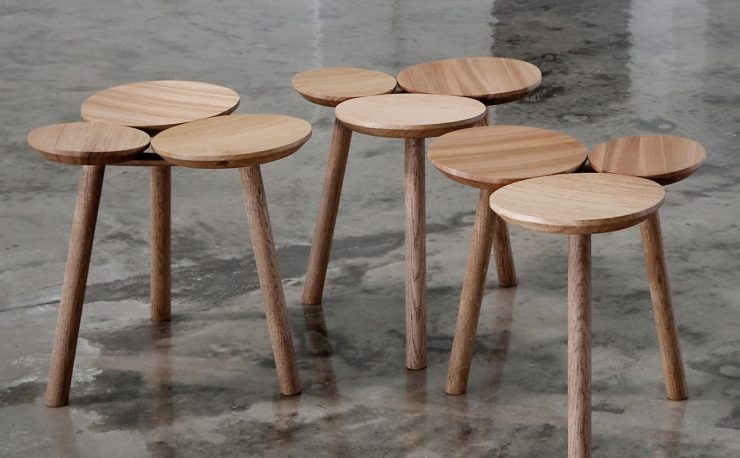 The Beauty of Individuality - The Wooden July Stool Design by Nao Tamura for Nikari with Finnish WWF Interior 3000 Design Blog furniture design interior design