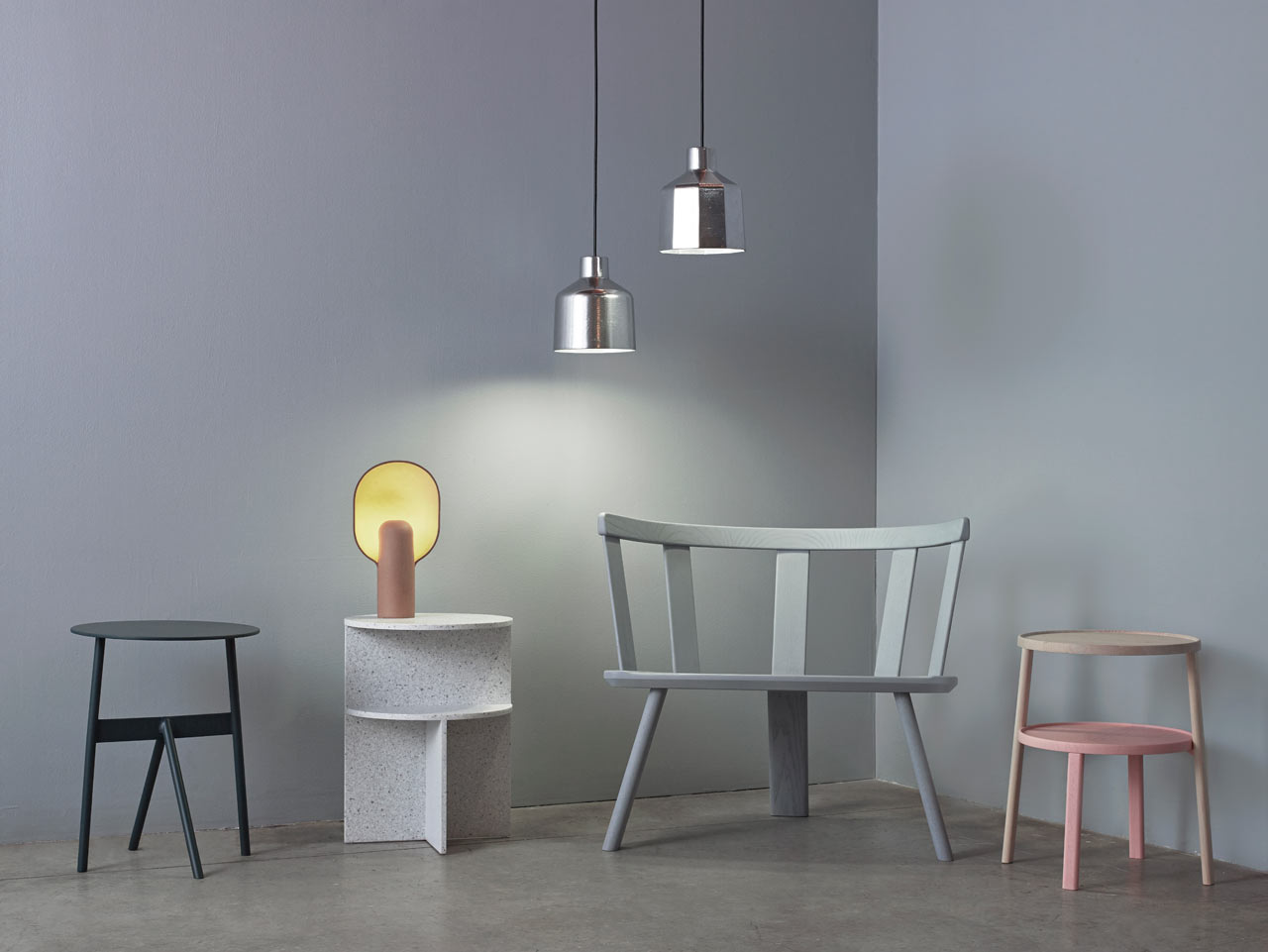 This Lamp Design Combines Two Organic Shapes Into a