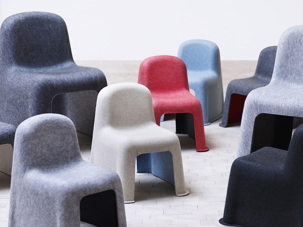 Hay Little Nobody Children Chair by Komplot Design