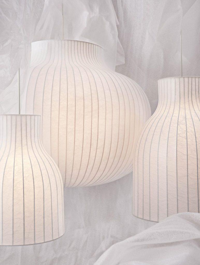 Muuto Strand Luminaire by Benjamin Hubert pendant lamp design