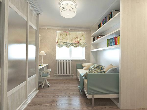 Удобная расстановка мебели в комнате