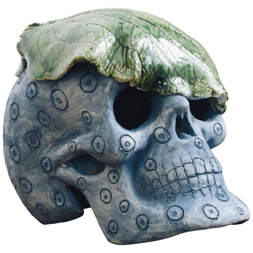 Eterne Mexican Day of The Dead Ceramic Skull