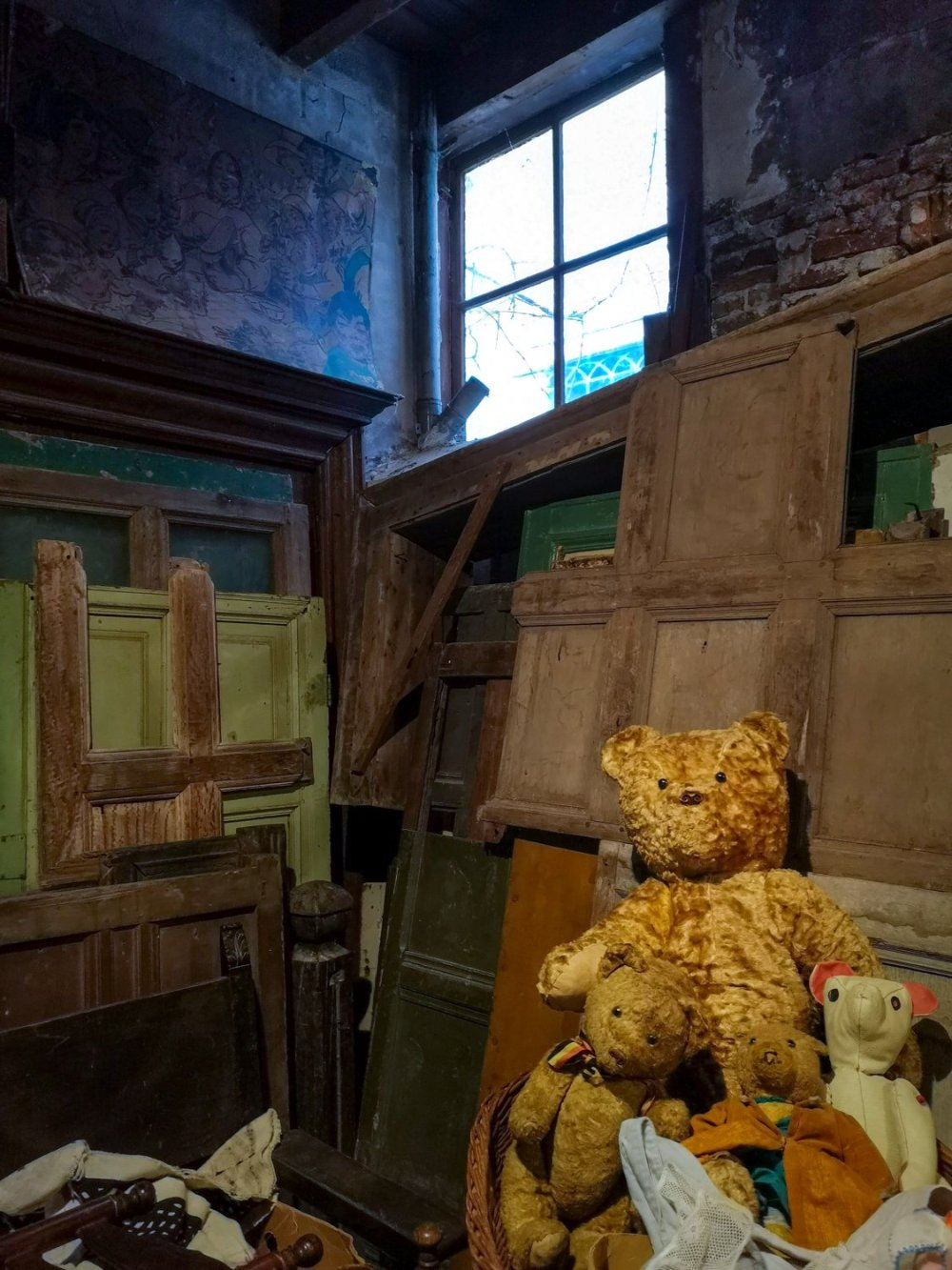 teddy bears at Anterieur Leiden