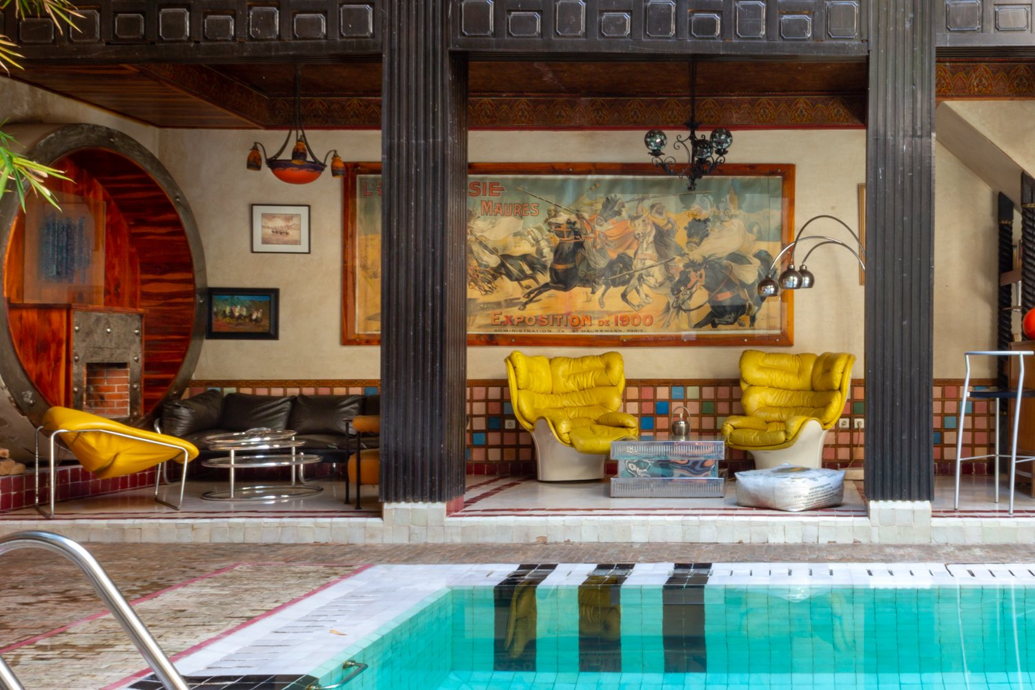 Riad Malika swimming pool