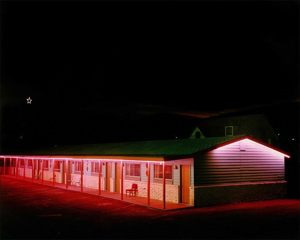 Steve Fitch Motel Raton New Mexico 1980
