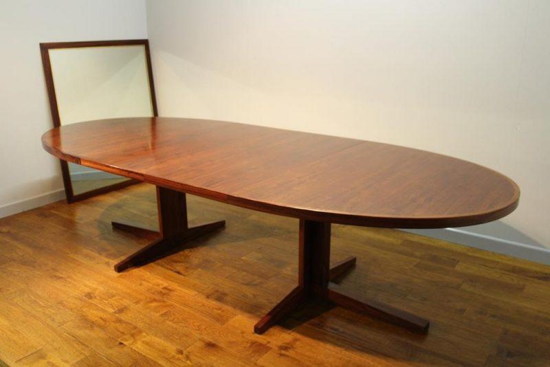 12 Seat Danish Table John Mortensen For Heltborg Mobler
