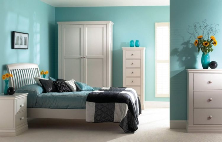 11 Stylish And Smoothing Turquoise Bedroom Ideas With Images Inspirational Interior Design Ideas Tips Interior Craze