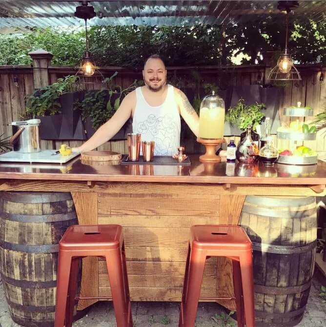 17+ Best Outdoor Bar Ideas That'll Be Perfect for Your ... on Best Backyard Bars id=64414