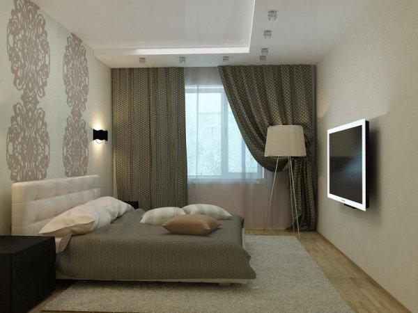 Дизайн спальни 12 кв. м. - 10 фото примеров + видео
