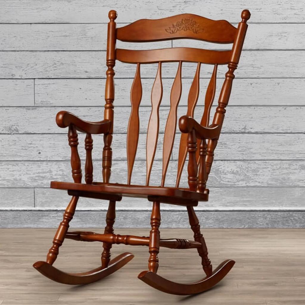 gambar kursi goyang greenwood wayfair