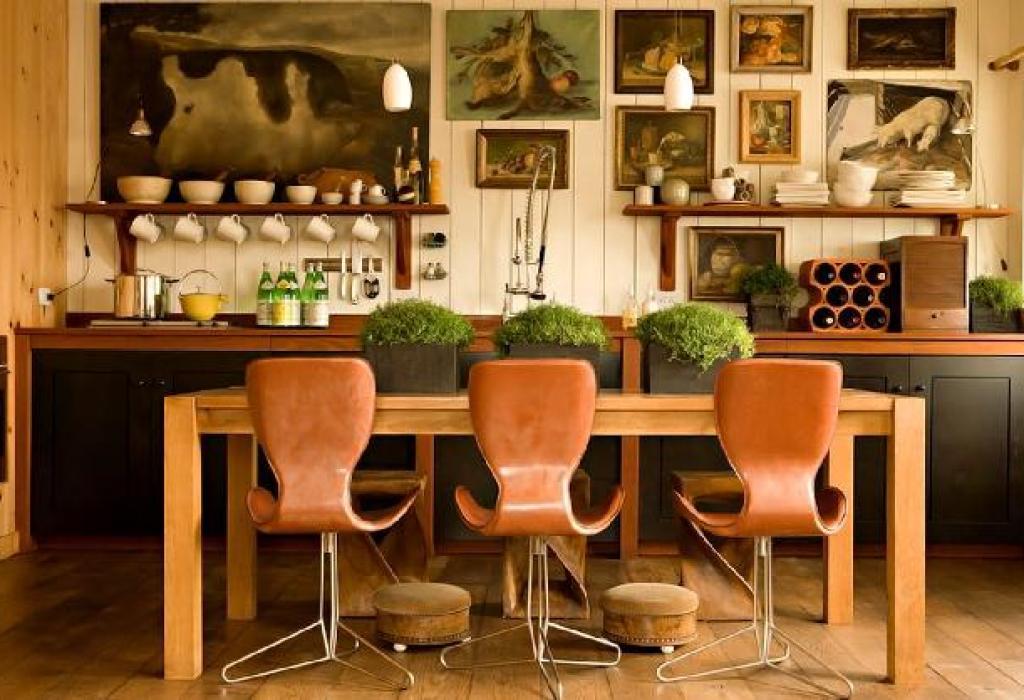 desain dan layout dapur eklektik