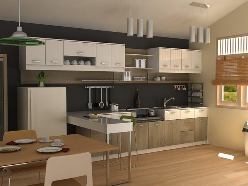 desain dan layout dapur modern