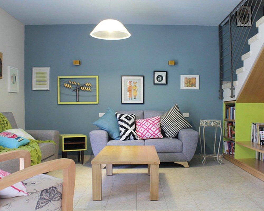 warna cat ruang tamu sempit