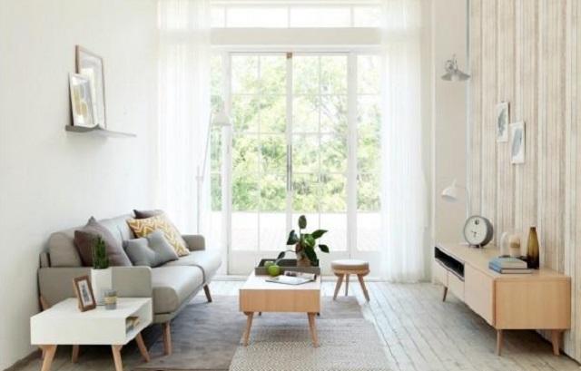 Desain Ruang Tamu Minimalis Ukuran 3x3 Meter Mengubah yang Biasa