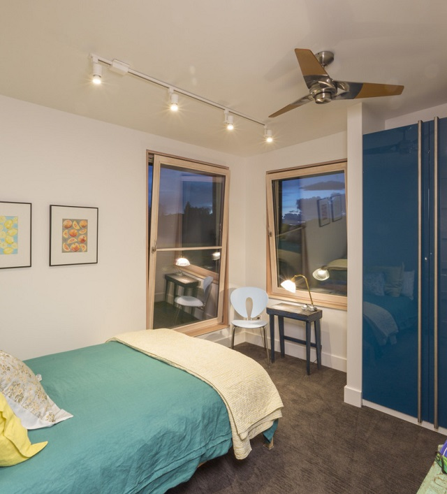 interior rumah; kamar tidur gaya minimalis