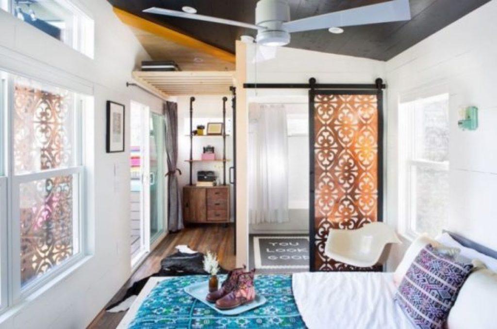 desain rumah kecil yang fungsional; desain kamar tidur