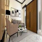 jasa desain interior rumah jepara; ruang tamu gaya minimalis