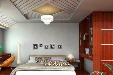 desain langit-langit kamar tidur