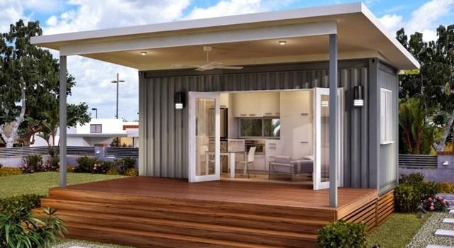 4 Desain Rumah Kontainer Modern Minimalis Kecil Sederhana Yang Unik Menarik