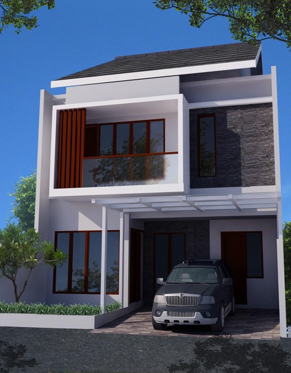 desain rumah kecil tipe 27