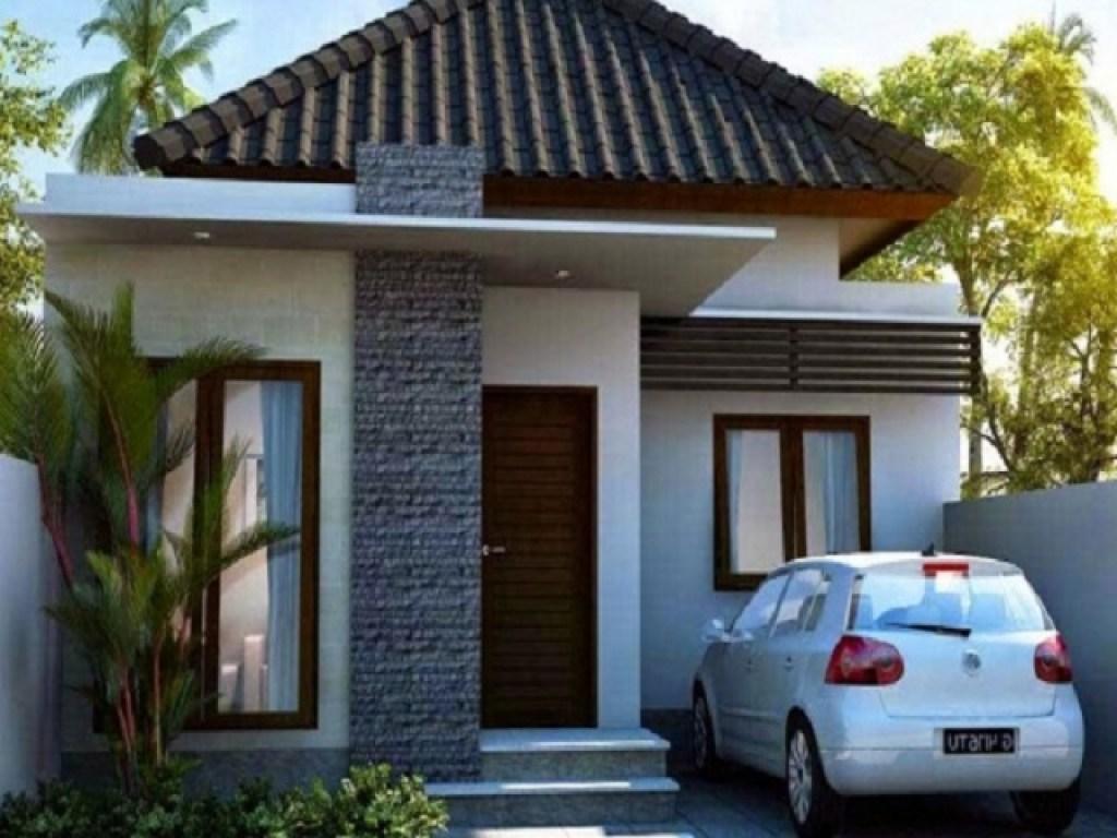 inspirasi desain rumah kecil tipe 27; nyaman dalam kesederhanaan