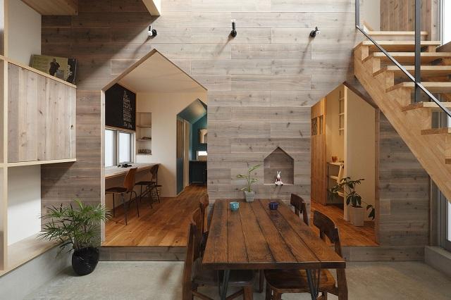 desain rumah kayu minimalis