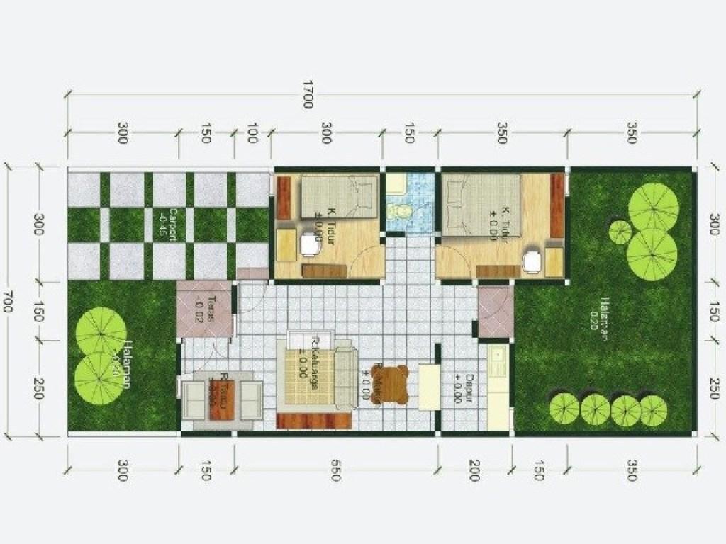 Denah Rumah Minimalis Tipe 60 Cara Tepat Tentukan Zonasi Ruang Di