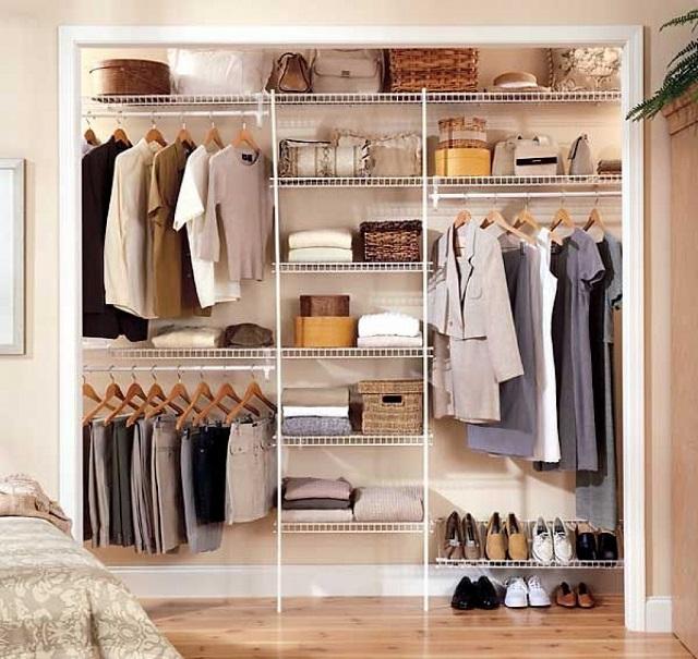 desain lemari pakaian unik