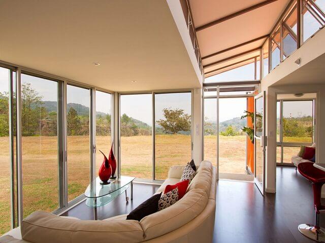 interior rumah kontainer minimalis