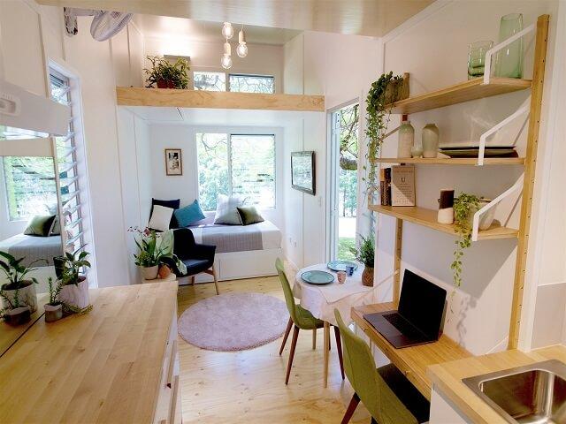 desain rumah kecil modern
