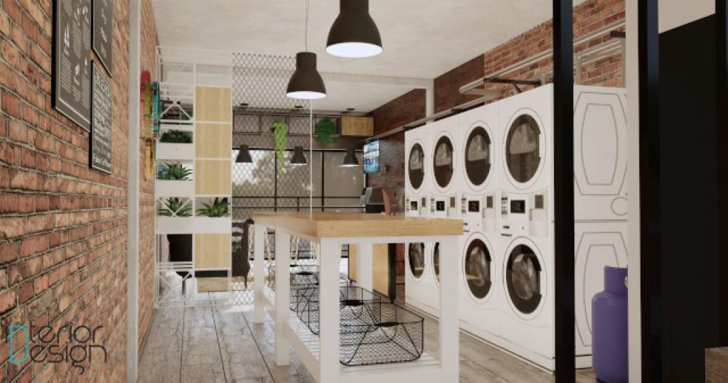 desain laundry; laundry room