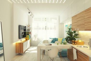 dekorasi apartemen kecil