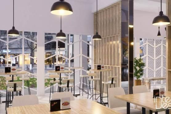 Desain restoran unik